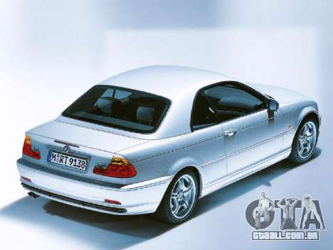 Telas de carregamento novo BMW para GTA San Andreas