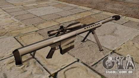Rifle de sniper Barrett M82A1 para GTA 4 segundo screenshot