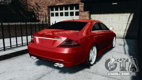 Mercedes-Benz CLS AMG para GTA 4 esquerda vista