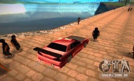 Elegy Hybrid para GTA San Andreas traseira esquerda vista