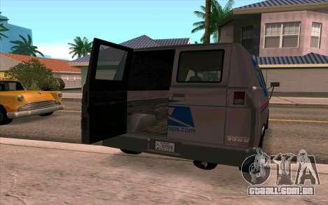 Burrito GTA 4 para GTA San Andreas esquerda vista