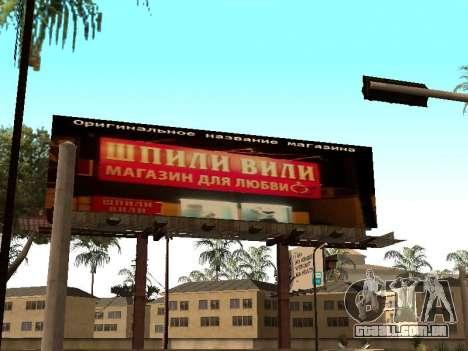 O novo hospital em Los_Santose para GTA San Andreas terceira tela
