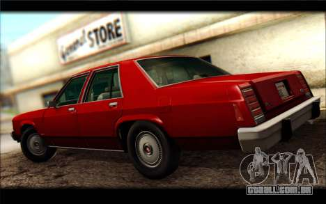 Ford LTD Crown Victoria 1987 para GTA San Andreas vista direita