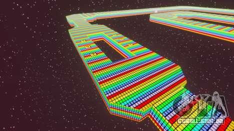 Estrada do arco-íris para GTA 4 por diante tela