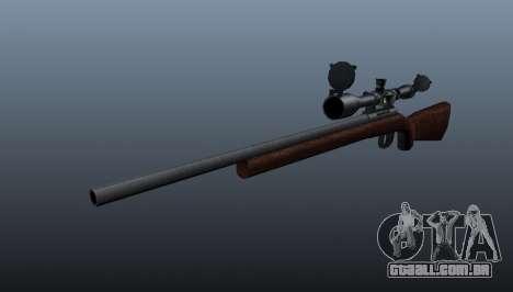 Esportes sniper fuzil Winchester Modelo 70 para GTA 4