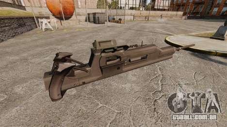 Metralhadora Maxim XM312 para GTA 4 segundo screenshot