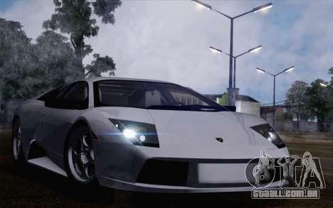 Lamborghini Murciélago 2005 para GTA San Andreas vista direita