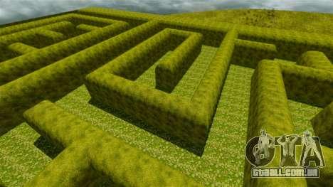 Labirinto para GTA 4 quinto tela