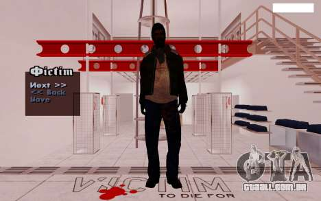 HD Pak Skins vagabundos para GTA San Andreas segunda tela
