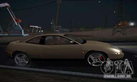 Fiat Coupe para GTA San Andreas esquerda vista