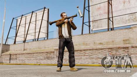 Lançador de granadas anti-tanque, Molotov para GTA 4 terceira tela