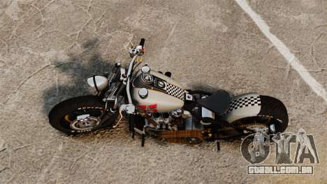 Harley-Davidson Knucklehead v1 para GTA 4 traseira esquerda vista