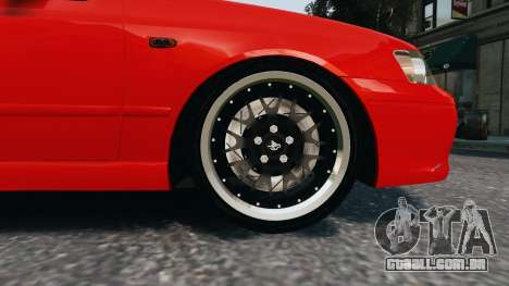 Ford Falcon XR8 para GTA 4 vista de volta
