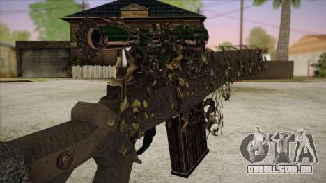 Sniper M-14 With Camouflage Grid para GTA San Andreas terceira tela