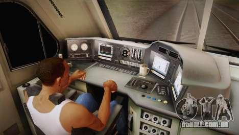 DF11G para GTA San Andreas vista direita