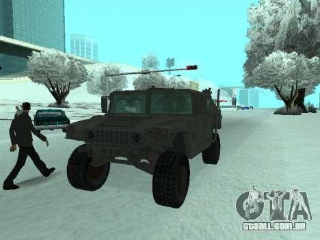 Hummer H1 do jogo Resident Evil 5 para GTA San Andreas