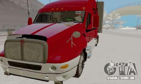 Kenworth T2000 v2.9 para GTA San Andreas
