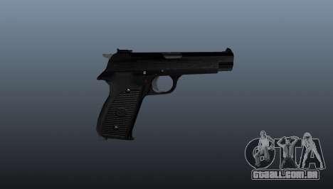 Pistola semi-automática SIG P210 para GTA 4 terceira tela