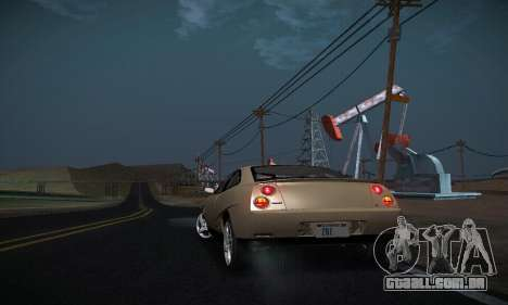 Fiat Coupe para vista lateral GTA San Andreas