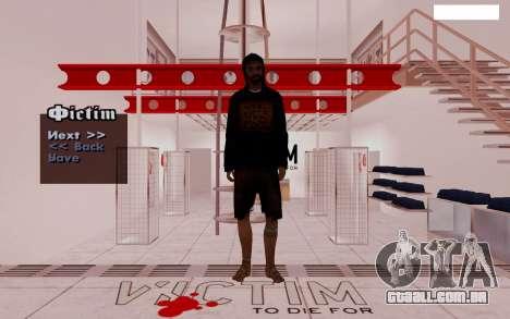 HD Pak Skins vagabundos para GTA San Andreas quinto tela