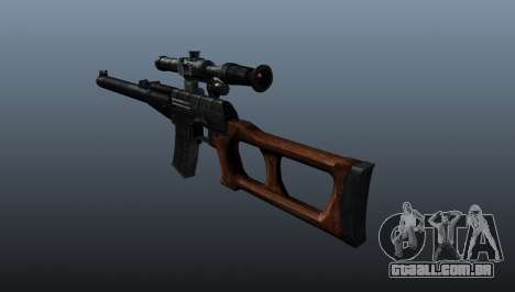 Fuzil de precisão VSS Vintorez para GTA 4 segundo screenshot