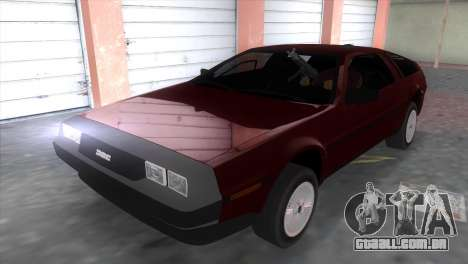 Delorean DMC para GTA Vice City