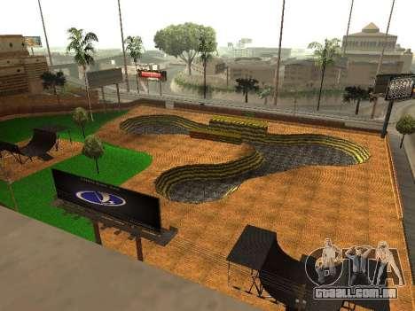 Novo parque de BMX para GTA San Andreas