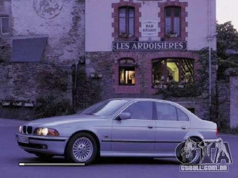 Telas de carregamento novo BMW para GTA San Andreas terceira tela