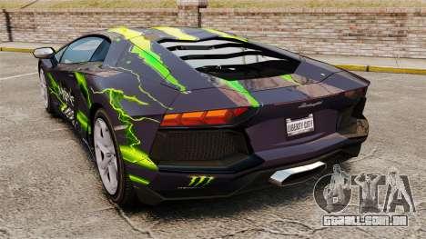 Lamborghini Aventador LP700-4 2012 [EPM] para GTA 4 esquerda vista