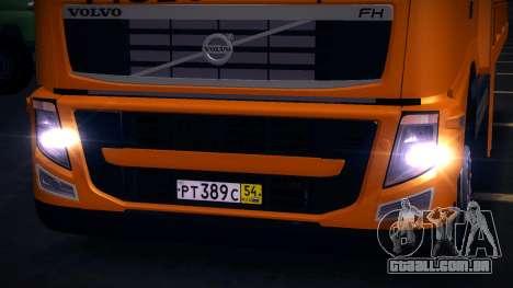 Volvo FH12 reboque para GTA San Andreas esquerda vista