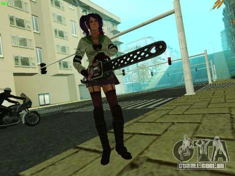 Juliet Starling para GTA San Andreas terceira tela