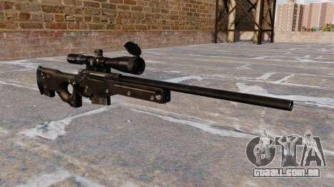 Rifle de sniper AI AWM para GTA 4