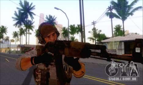 Engineer of Battlefield 4 para GTA San Andreas segunda tela