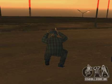 Color Mod para GTA San Andreas por diante tela