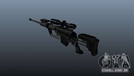 calibre. 50 sniper rifle para GTA 4 segundo screenshot