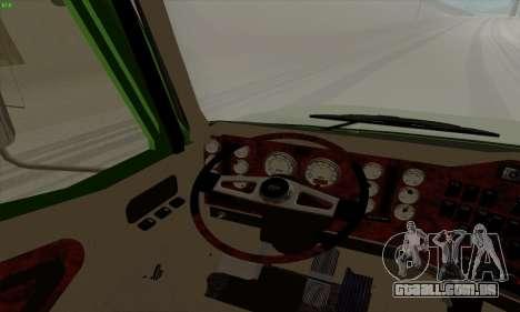 International 9400i Skyrise para GTA San Andreas vista direita