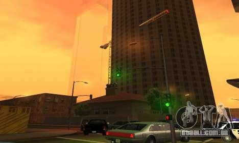 -Concluída a construção em San Fierro V1 para GTA San Andreas terceira tela
