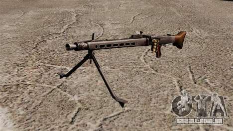 Metralhadora de uso geral MG42 para GTA 4