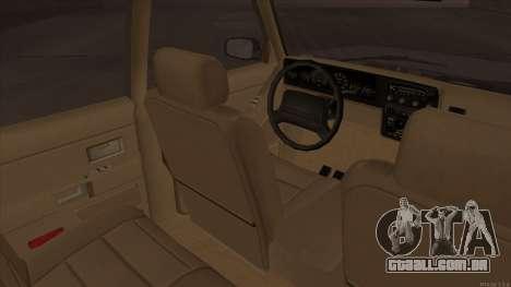 Landstalker HD from GTA 3 para GTA San Andreas vista traseira