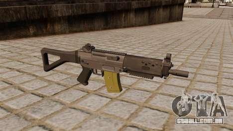 SG automática SIG 552 Commando para GTA 4