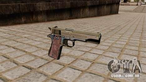 Colt M1911A1 pistola para GTA 4