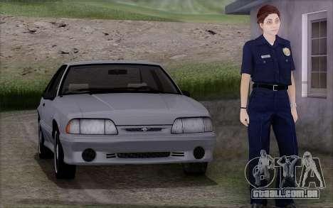 GTA 5 Police Woman para GTA San Andreas