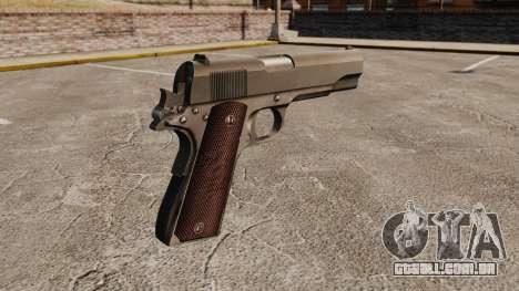 Colt M1911 pistola v5 para GTA 4 segundo screenshot