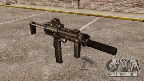 Pistola-metralhadora HK MP7 Sopmod para GTA 4