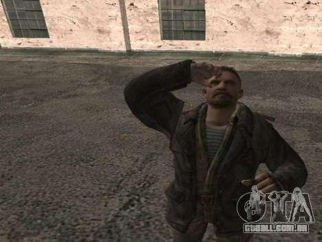 Viktor Reznov para GTA San Andreas terceira tela