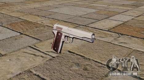 45 pistola Colt M1911 para GTA 4