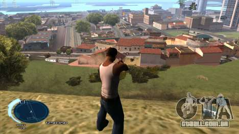 C-HUD Assasins Creed 3 III para GTA San Andreas
