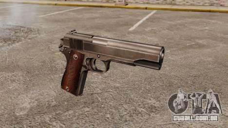 Colt M1911 pistola v4 para GTA 4