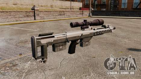 Rifle sniper DSR para GTA 4 segundo screenshot