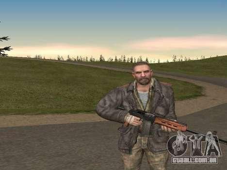 Viktor Reznov para GTA San Andreas segunda tela